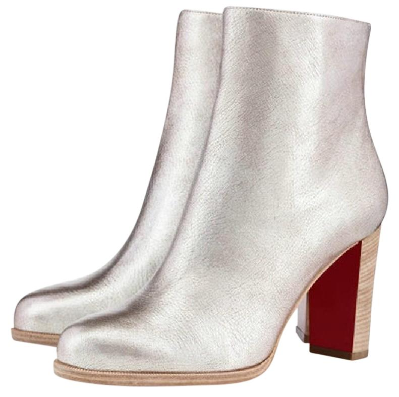 separation shoes 33620 d2dfd new zealand louboutin ankle boots heels up 835f7 d93bc