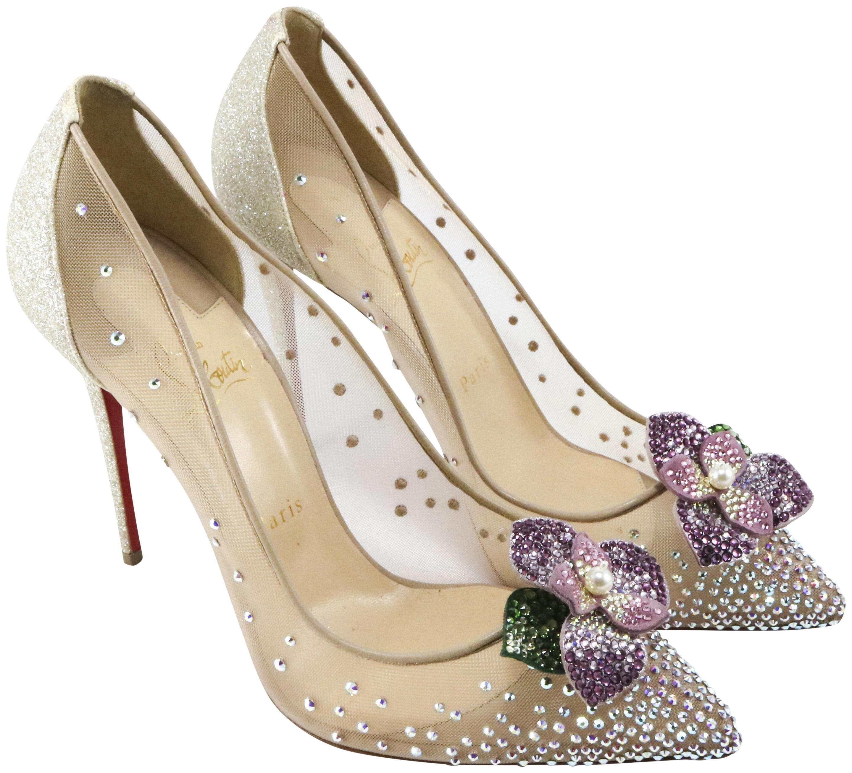 e7b6fc36efc low price christian louboutin jeweled shoes wedding 4e768 45723