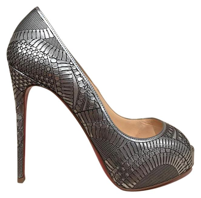 shop for sale Christian Louboutin Metallic Platform Pumps new arrival online free shipping cheap price outlet discount sale clearance for cheap tuVgMniMD
