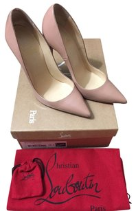 Christian Louboutin So Kate Pump In Patent Nude Pumps
