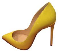Christian Louboutin Stiletto Pigalle Follies Patent Sun Papaye Pumps