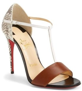 Christian Louboutin Cuoio Brown Sandals