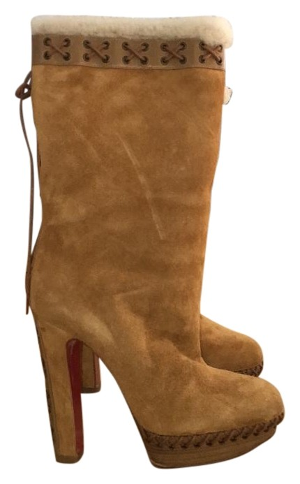 Christian Louboutin Tan Boots/Booties Size US 6.5 Regular (M, B)
