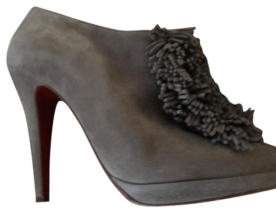 c4e7678048e Christian Louboutin Taupe 12345 Boots Booties Size US US US 7.5 Regular (M