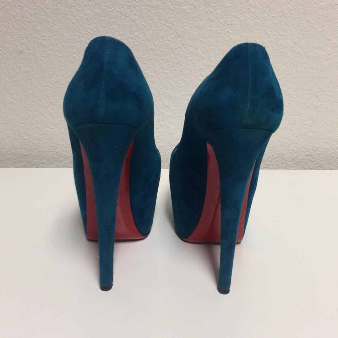 1a67422e527 ... Christian Louboutin Turquoise Turquoise Turquoise Daffidil Pumps Size  US 6.5 Regular (M