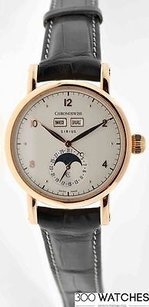 Chronoswiss This Chronoswiss Sirius Ch9341r Triple Date Moon Phase 18k Rose Gold Watch