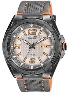 Citizen Citizen Drive Brt Leather Mens Watch Aw1385-03h