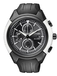 Citizen Citizen Eco-drive Chronograph Rubber Mens Watch Ca0286-08e