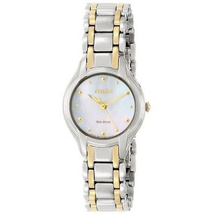 Citizen Citizen Eco-drive Ladies Silhouette Mop Watch Em0284-51n 1 Links Missing