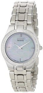 Citizen Citizen Eco-drive Stiletto Diamond Mop Ladies Watch Eg3150-51d