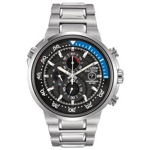 Citizen Citizen Mens Ca0440-51e Eco-drive Endeavor Chronograph Watch