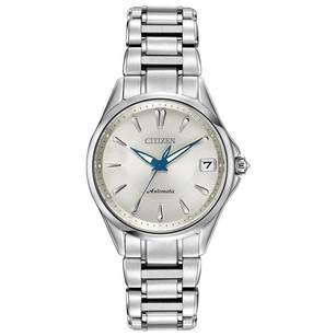 Citizen Citizen Pa0000-54a Womens Classic Silver Dial Automatic Watch