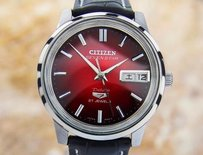 Citizen Citizen Seven Star Made In Japan Deluxe 21 Jewels 1960s Automatic Watch Jrd18