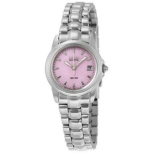 Citizen Citizen Silhouette Eco-drive Pink Dial Stainless Steel Ladies Watch