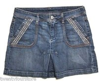 Citizens of Humanity Jeans Mini Skirt Blue