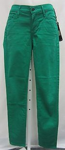 Citizens of Humanity Green Cropped Thompson Skinny 70314f Skinny Jeans