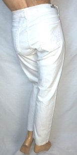 Citizens of Humanity White Ava Low Straight Leg Jeans
