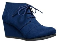 City Classified Blue Boots