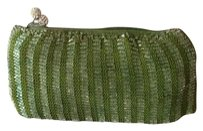 Clara Kasavina Evening Beads Crystal Green Clutch