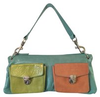 Claudia Firenze Tote in Teal