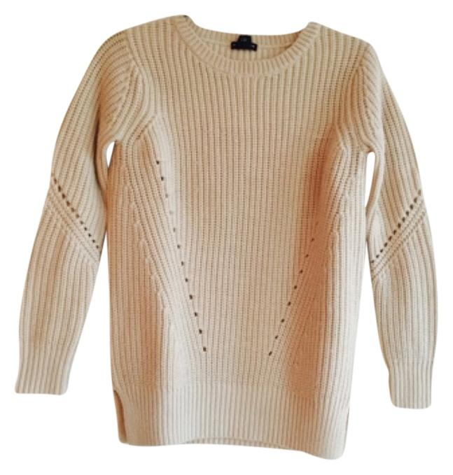 Club Monaco cream wool sweater