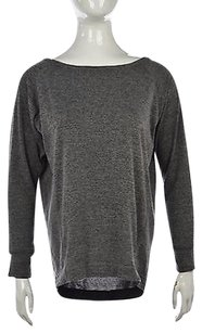 Club Monaco Womens Speckled Scoopneck Shirt Sweater