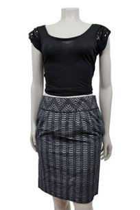 Club Monaco Jupe Mix Skirt Black