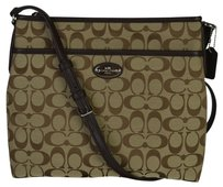 Coach 36378 Coated Canvas Cross Body Bag