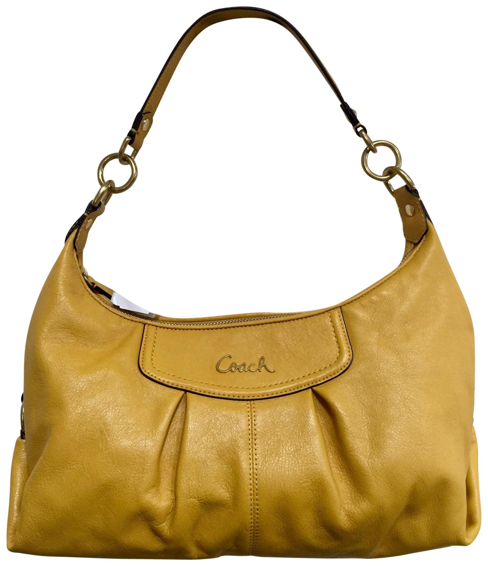 3c4f9e335d2 ... new style yellow coach hobo bags up to 90 off at tradesy f0fc3 0de44