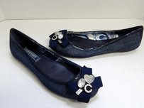 Coach Poppy Caper B Blue Flats