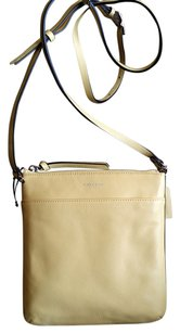 Coach Bleecker Pebbled Leather Swingpack Cross Body Bag