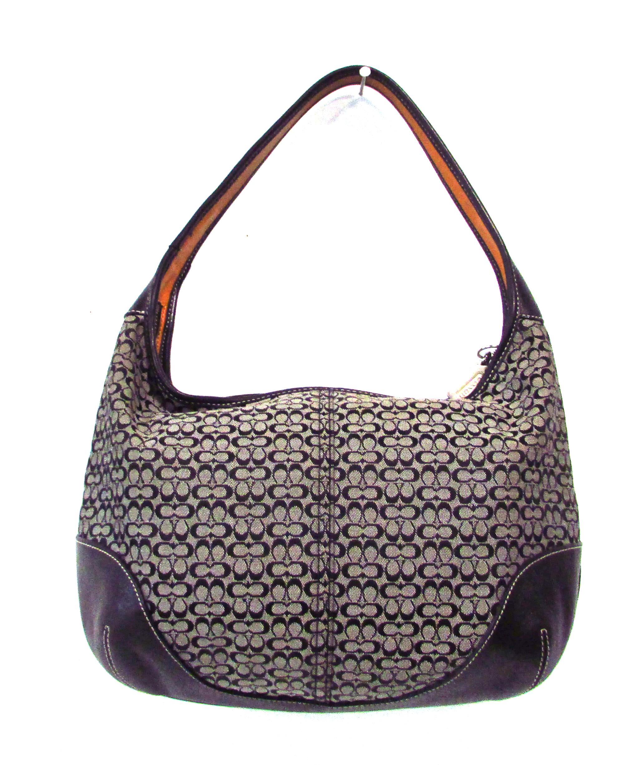 Coach Ergo M2k-6617 Signature Leather Canvas Hobo Bag | Hobos on Sale
