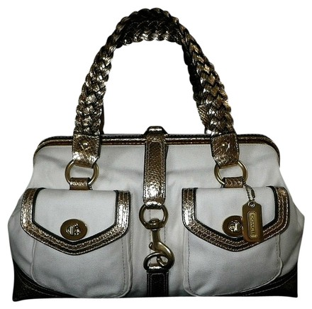 Preload https://item1.tradesy.com/images/coach-celebrity-metallic-daphne-lg-doctor-satchel-whiteivory-gold-canvas-embossed-python-leather-tot-534280-0-0.jpg?width=440&height=440