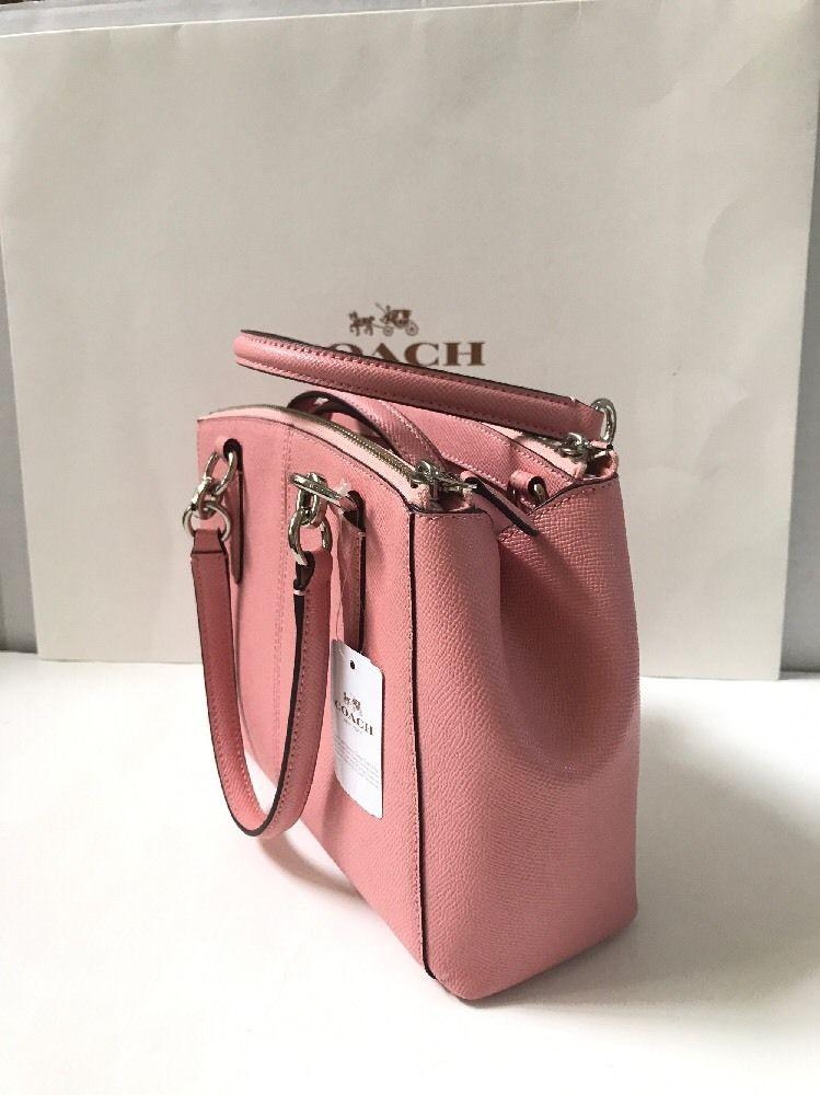 943f6fdb15 ... coupon coach carryall 34797 36704 christie satchel in blush pink.  12345678 977a2 b24cd