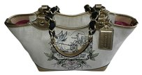 Coach Dooney Bourke Gucci Chanel Satchel in Metallic