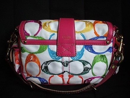 Coach Dooney Louis Vuitton Gucci Rare Tote in Multi-Color