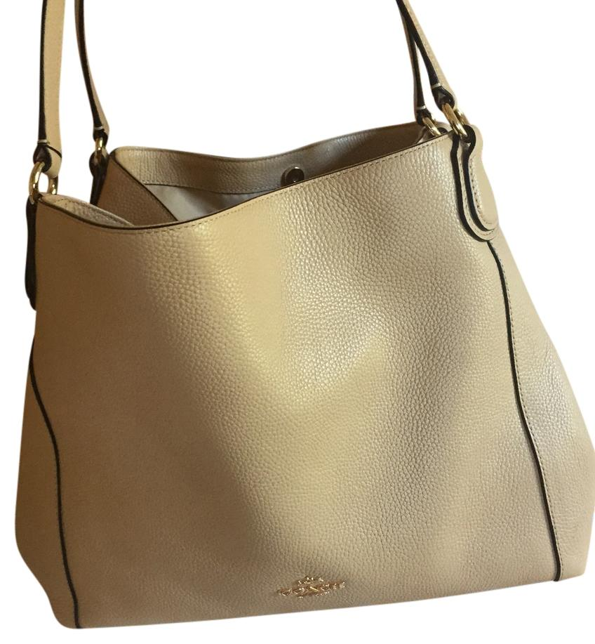 f5e557e96826 discount code for coach edie 31 cream leather hobo bag tradesy 06d03 6fac1