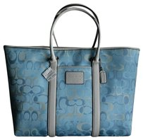 Coach Gucci Louis Vuitton Tote in Blue