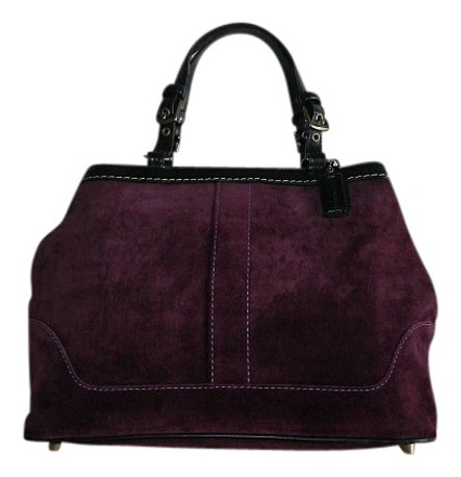 Preload https://item1.tradesy.com/images/coach-hamptons-eggplant-medium-carryall-tote-rare-purple-suede-leather-satchel-512610-0-0.jpg?width=440&height=440