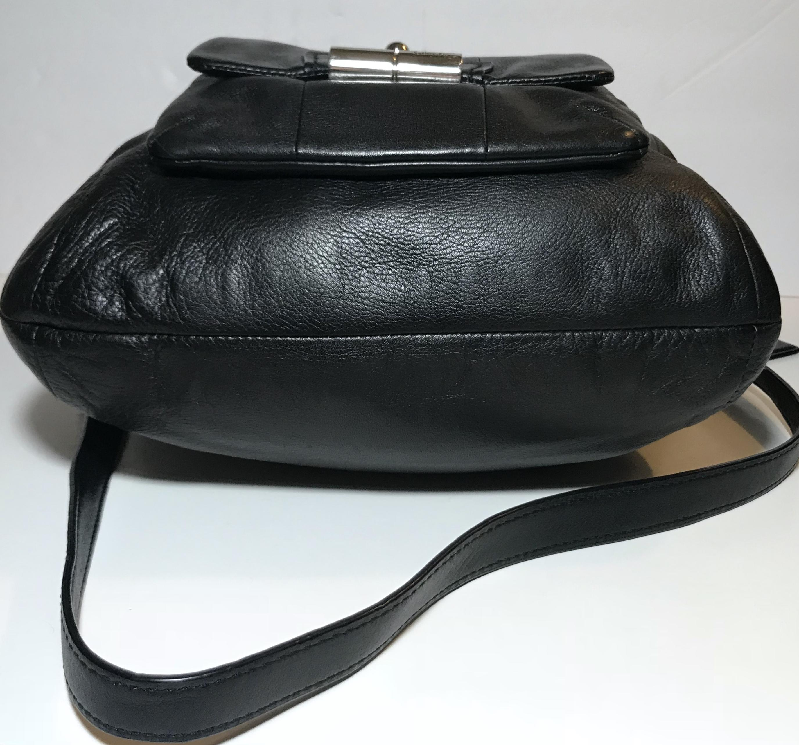 05b5a9dc5d1 ... new zealand coach kristin crossbody black leather hobo bag tradesy  593ef 962f1