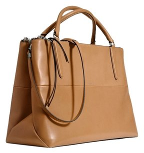 Coach Leather Brown One Office Soft Shoulder Bag