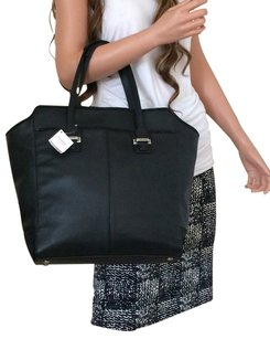 Coach Leather Leather Tote in Black