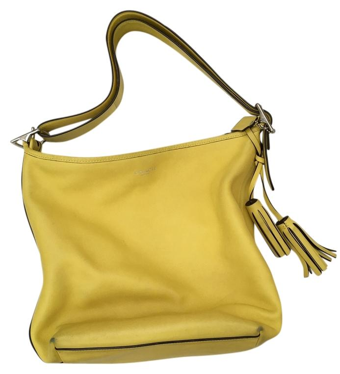 3bc614034e12 ... new style yellow coach hobo bags up to 90 off at tradesy 5d39d d017a ...