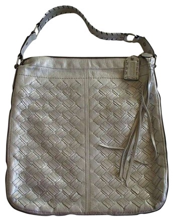 Preload https://item1.tradesy.com/images/coach-limited-edition-woven-lace-xl-silvermetallic-leather-silvernickel-hardware-hobo-bag-388085-0-0.jpg?width=440&height=440