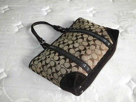 Coach Louis Vuitton Dooney & Bourke Rare Gucci Tote in Beiges