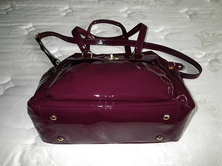 Coach Louis Vuitton Dooney Bourke Gucci Channel Vintage Tote in Purples