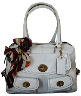 Coach Louis Vuitton Dooney Bourke Tote in White
