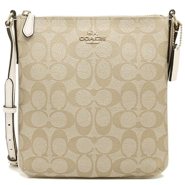 Cross Body Bags - Colorblock Coated Canvas Signature Crossbody Clutch Tan Chalk - beige - Cross Body Bags for ladies Coach 4RLHGGCY