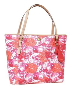Coach Peyton Flower Tote in Multi