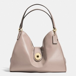 Coach Carlyle Smooth Leather Shoulder Bag